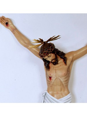 Cristo Crucificado - Muerto (Cruz Plana) - Crucifijo