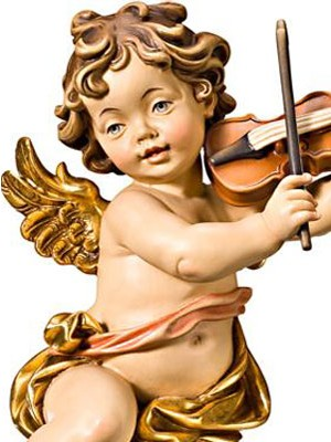 Angel musical con violin