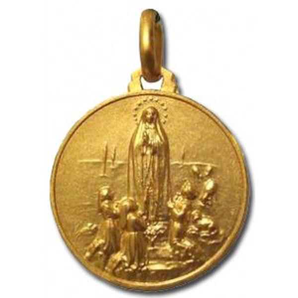 Medalla de la Virgen de Fatima
